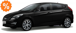 Фото Hyundai Solaris hatch МT Черный